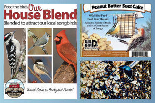 Always Fresh, Top Quality Seed and Suet!