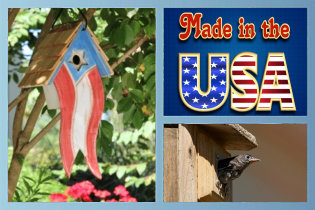 Houses and Hardware made in USA!